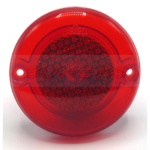 Jokon 710 30.0016.000 95mm Round Red Rear Reflector